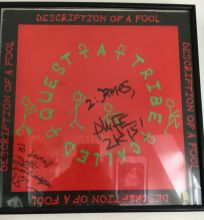 tribe called quest signed record
