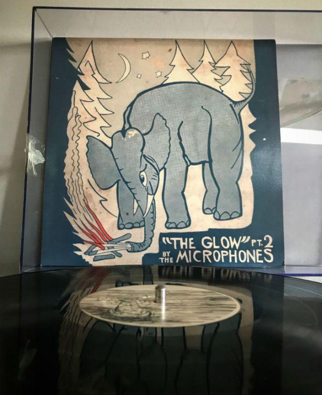 album glow-microphones