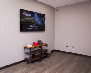 New digital signage helps us communicate both internally and externally