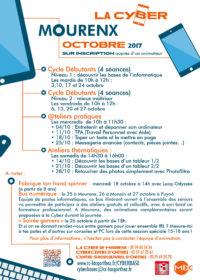 Programme La Cyber- Octobre 2017