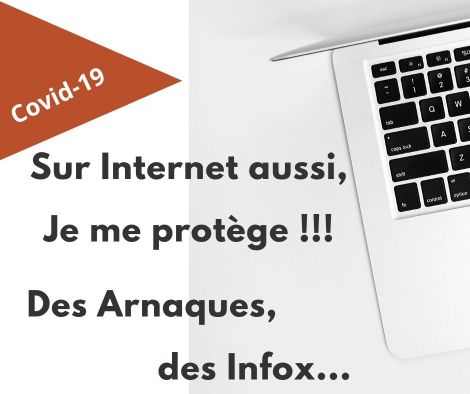Covid-19 - Sur Internet, je me protège
