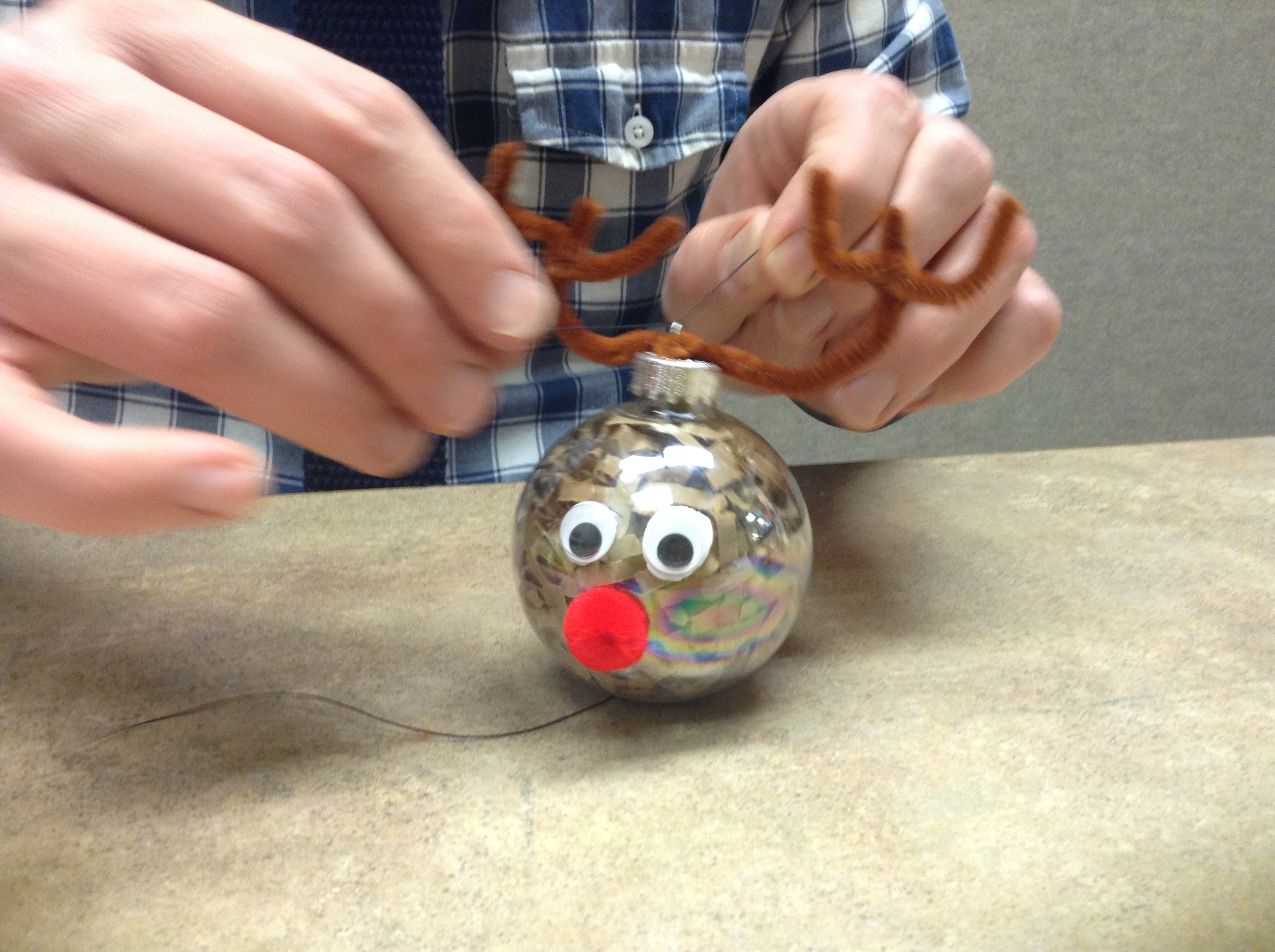 DIY This Rudolph Ornament Campbell County Public Library