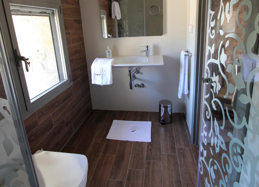 Bany habitació rústica