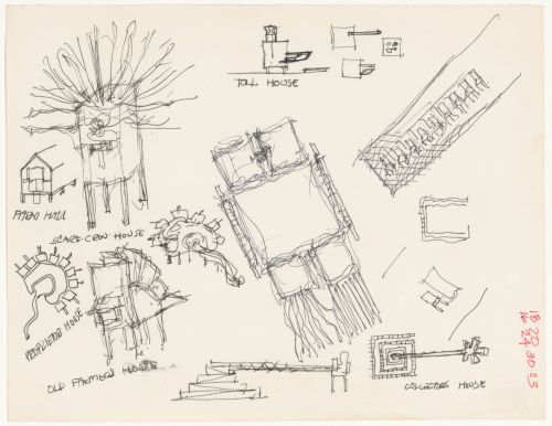 small resolution of john hejduk objects lancaster hanover masque 1980 1982 cca dr1988 0291 027