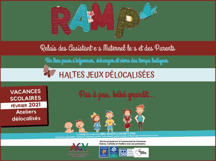 haltes jeux Relais assistant·e·s maternel·le·s et parents RAMp Communauté communes Aubrac Carladez Viadène Brommat Saint-Chély d'Aubrac Soulages-Bonneval