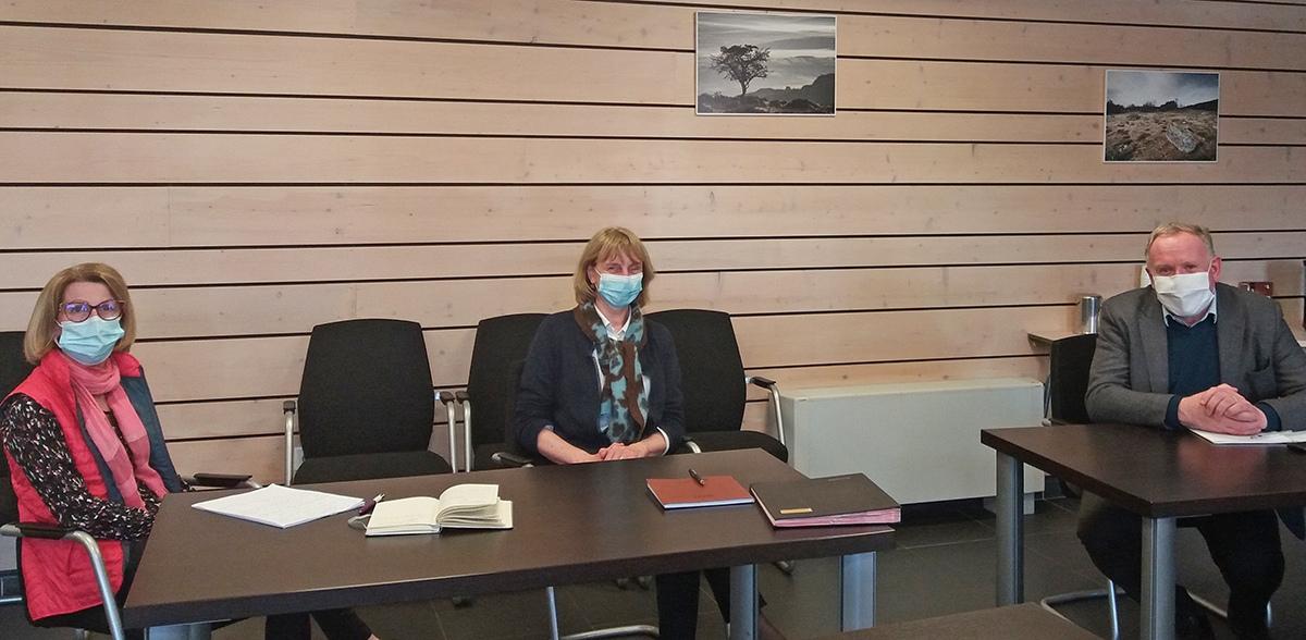Rencontre Pascale Ampe directrice Finances Publiques Aveyron