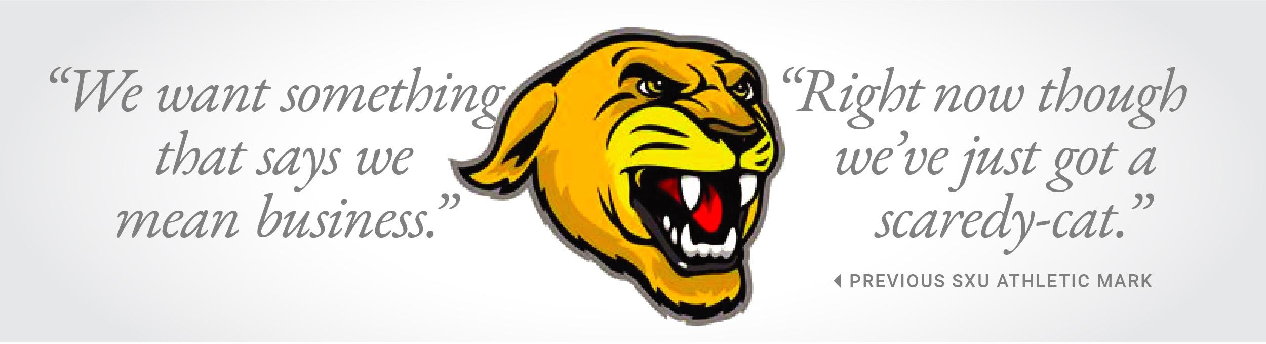 Previous Saint Xavier University's athletic logo