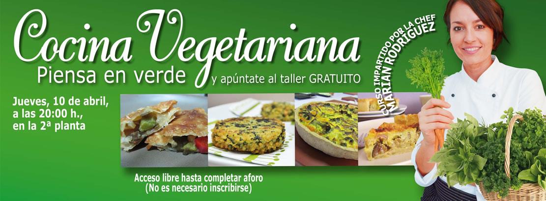 Curso de cocina vegetariana  Centro Comercial Arousa