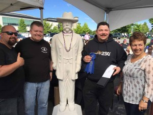 Canadian Festival of Chili & BBQ Pork Shoulder Competition 2016 1st Place Winner Fahrenheit 250