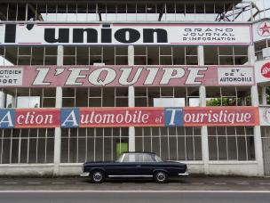 A brief stop at the old Reims Grand Prix Circuit