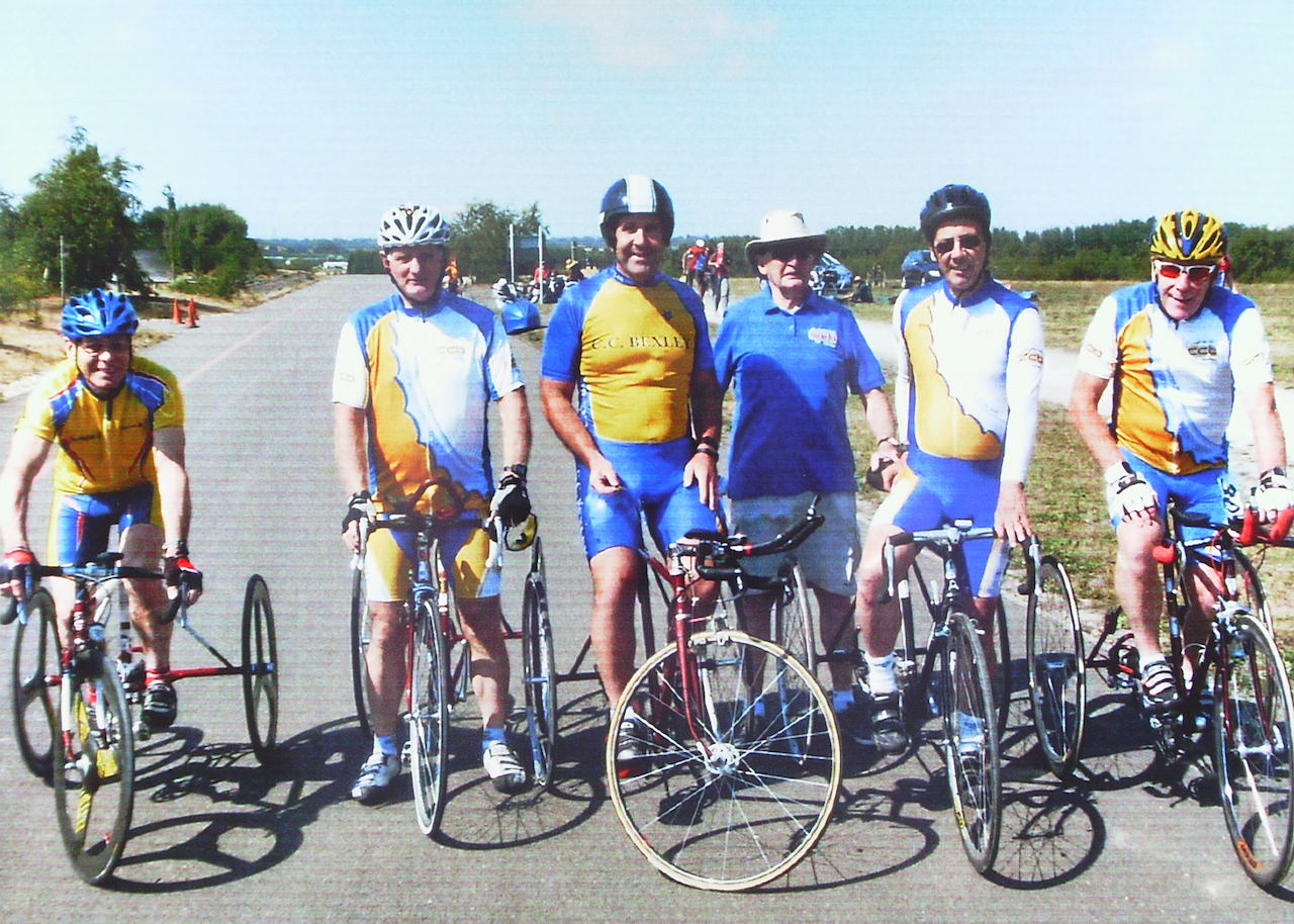 CC Bexley Tricycle Bill Finch Memorial
