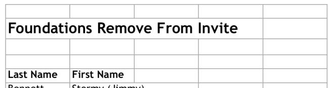 Custom Report Excel Output