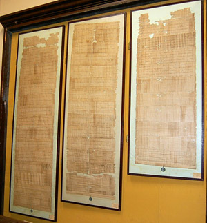 The three papal papyri of Pope John XIII to Vic