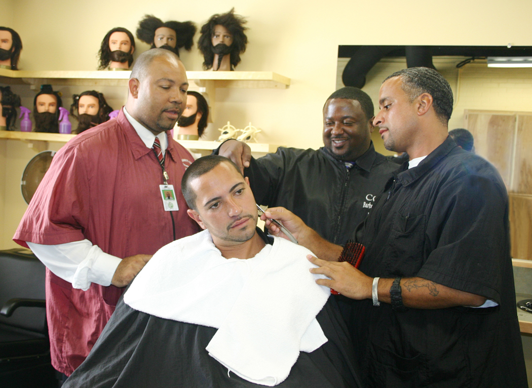 HCI CCCC open inmate barber school 10202008  News