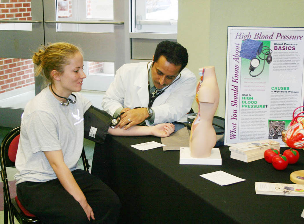 Campbell School Of Pharmacy Holds Health Fair At Central