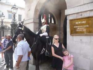 Horse Guard and horse