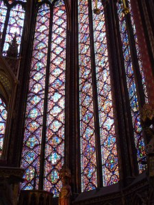 Windows at Sainte-Chapelle