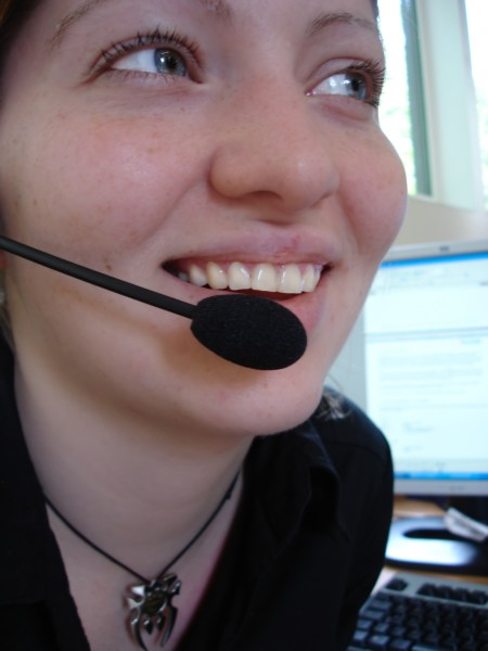 Speaking with authority!  A tale of an ambassador and a receptionist