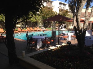 Pool at the Palo Alto Sheraton