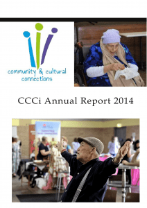 2014 CCCi Annual Report front cover