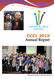 2015 CCCi Annual Report front cover