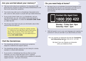 Inner West Dementia Referral Brochure - English (page 2)