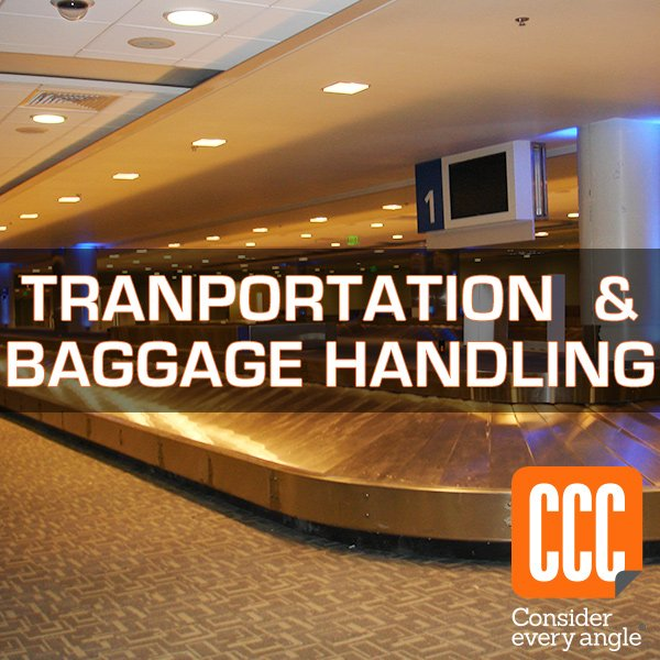 Baggage Handling, Airports and Train Stations