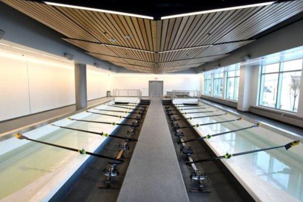 11University of Michigan Sports Complex rowing practice room