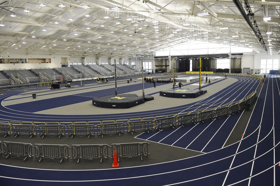 11University of Michigan Sports Complex indoor track