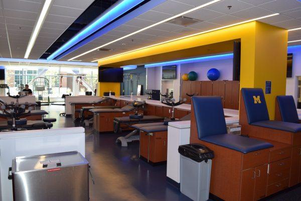 11University of Michigan sports medicine facility