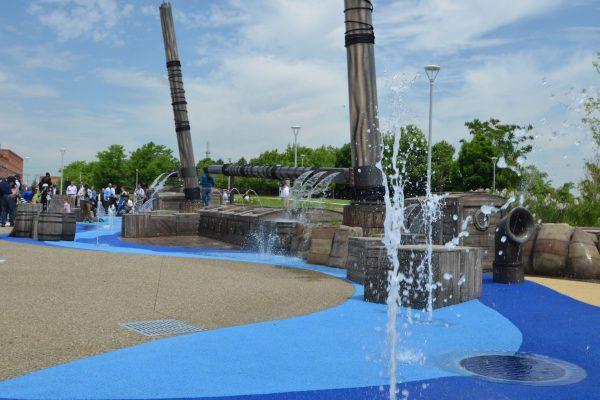 11Mt. Elliot Park children's fountain play area