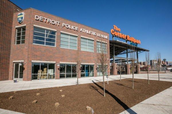The Corner Ballpark Police Athletic League exterior