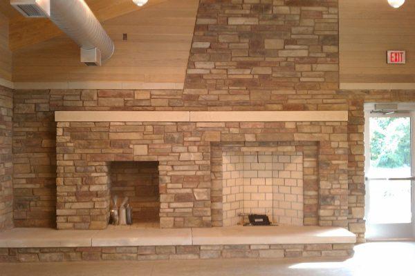 11Marshbank Park lodge interior fireplace