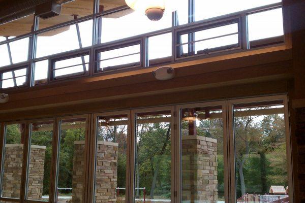 11Marshbank Park interior with glass windows and doors