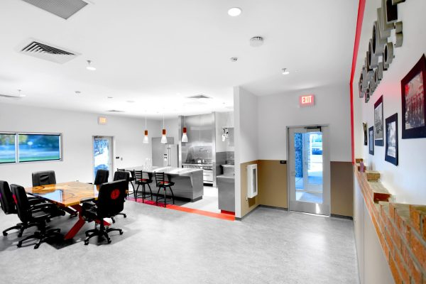 West Bloomfield Fire Station kitchen and dining