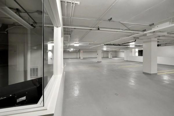 Brookside Condominiums parking garage