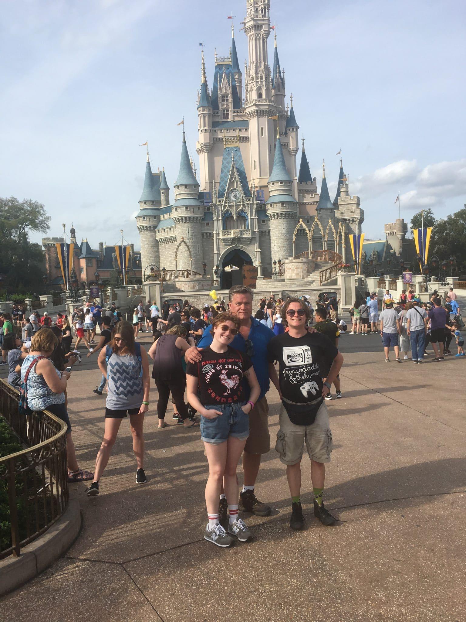 11Steve Schoenkneckt with kids at Disney