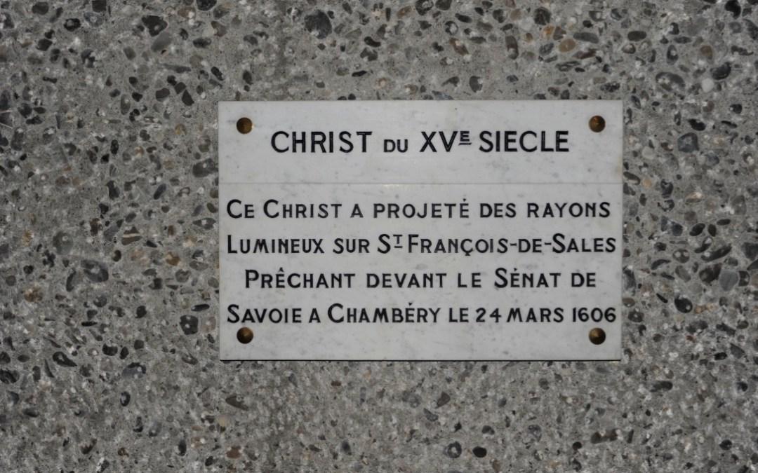 LE CHRIST MIRACULEUX DU MONASTERE DES VISIDANDINES DE THONON : une idée de pèlerinage à deux pas de Genève