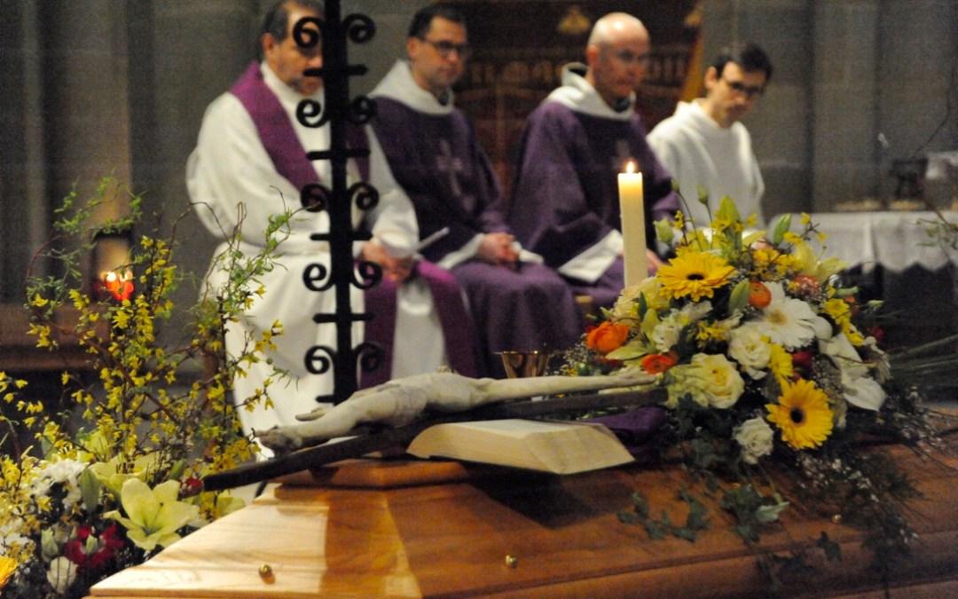 Messe de sépulture de Don Patrick Delaubier du 2 mars 2016 : Extrait des hommages envoyés par ses amis du monde entier, lus en début de messe