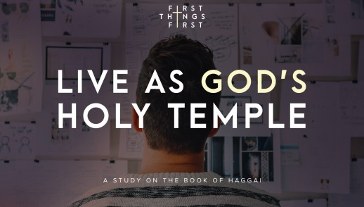 Live As God's Holy Temple