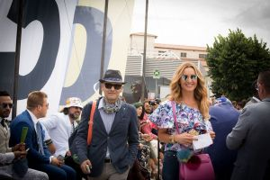 Pagano Uomo and me at Pitti Uomo Florence