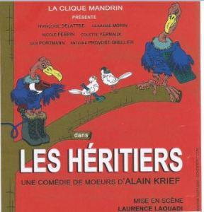 AFFICHE LES HERITIERS