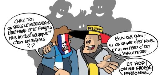 """Dessin pour la franco-belge """"Le sport"""""""