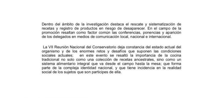 VII Reunion Nacional del Informacion la Cocia Mex3