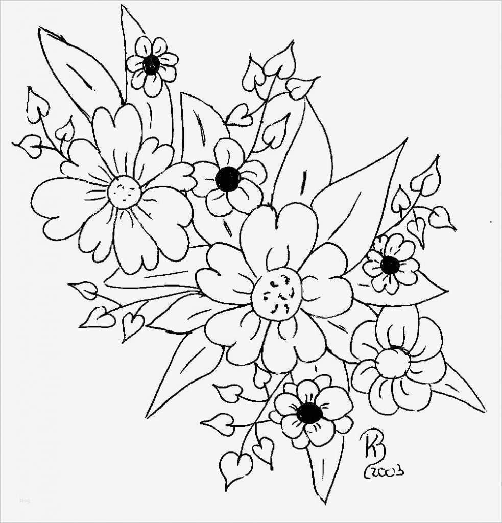 Window Color Malvorlagen Blumen