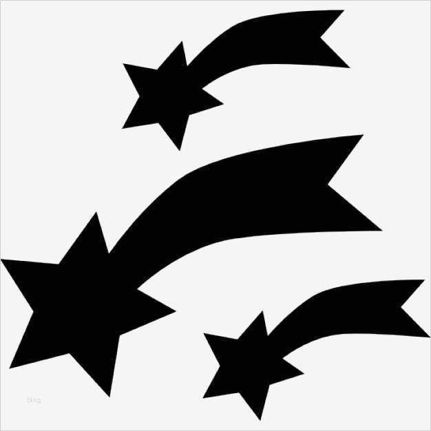 Sternschnuppe Vorlage Beste Sternschnuppen Vorlage Ideen