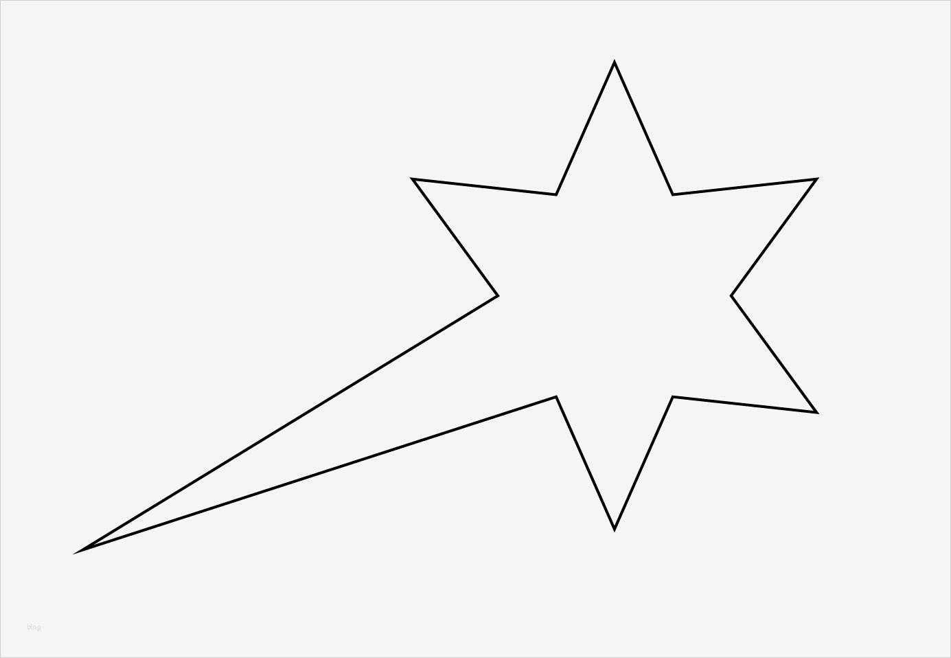 Sternschnuppe Vorlage Zum Ausdrucken Angenehm Malvorlagen