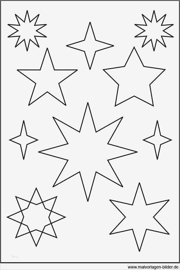 Sternschnuppe Vorlage Zum Ausdrucken Süß 32 Besten Stern