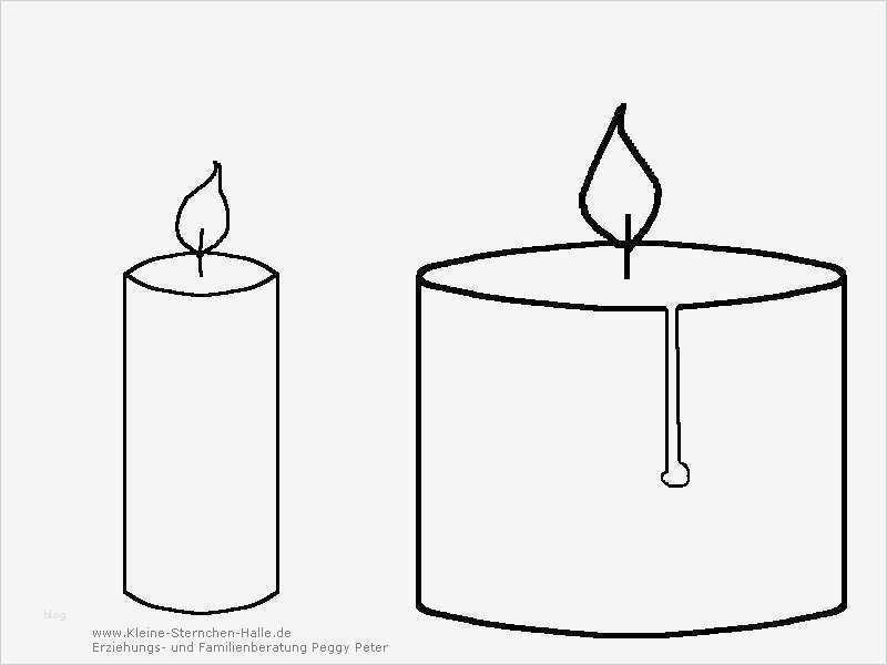 Vorlage Kerze Angenehm Weihnachten Ausmalbilder Und