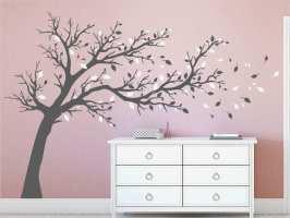 Baum An Wand Malen Vorlagen Luxus Wandtattoo Großer Baum ...